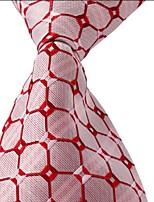 Geometric Pattern Men Jacquard Business Suit Leisure Necktie