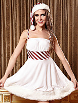 Performance Dresses Women's Performance Polyester Sash/Ribbon 4 Pieces White