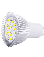 HRY® 8W GU10 16XSMD5630 650LM Warm/Cool White Color LED bulbs Spotlights Led(85-265V)