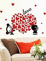 Romance / Fashion / People Wall Stickers Plane Wall Stickers , PVC 110cm*60cm