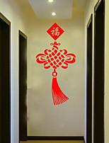 Fashion / Holiday Wall Stickers Plane Wall Stickers , PVC 95m*45cm