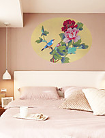 Animals / Botanical / Fashion Wall Stickers Plane Wall Stickers , PVC 50cm*66cm