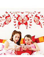 Animals / Fashion Wall Stickers Plane Wall Stickers , PVC 55.9cm*33cm