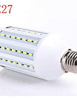 15W 5730 e27 majs lampor är varmvit vita plastskal kan användas som kraftkälla med konstant spänning ledde (AC220V)