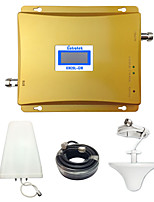 Lintratek GSM 3G Repeater GSM 900MHz 2100MHz WCDMA Amplifier Cell Signal Booster Dual Band Repetidor 2G 3G Full Kit
