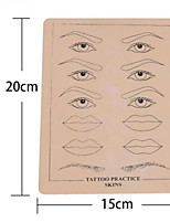 BaseKey  EyeBrow  For Tattooing Practice 15 x 20cm