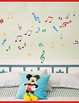 Music / Fashion Wall Stickers Plane Wall Stickers , PVC 40cm*56cm
