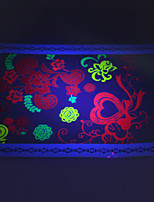 10/PCS Hot Sale Fluorescent Tattoo Handsome Multi-Style Temporary Tattoo For Fashion WST-162