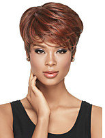 Best-Selling Europe And The United States Fashion Color Mixture Short Straight Hair Wigs