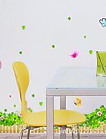 Botanical / Fashion Adesivi murali Adesivi aereo da parete , PVC 50cm*70cm