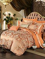 royal retro europeu jacquard estilo da cama set 4 peças