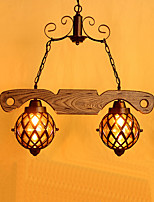 Metal - Lámparas Colgantes - LED - Tradicional/Clásico / Rústico/Campestre / Cosecha / Retro / Campestre
