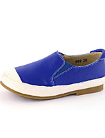 Children Shoes Casual Moccasin Leather Loafers / Slip-on Black / Blue / Red / White