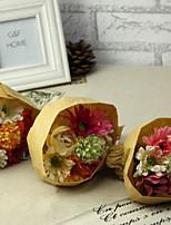 Silk / Plastic Chrysanthemum Artificial Flowers 1pcs/set