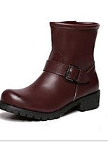 Women's Shoes  Split Sole Fashion Boots Boots Casual Black / Brown / Burgundy