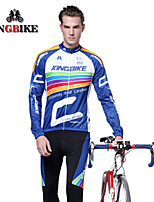 2015 KingBike Winter Cycling Jersey Men Compression Tights Leggings Fitness Men Skinny Joggers Trousers