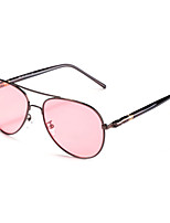Men 's Anti-Reflective   Polarized  100% UV400 Aviator Sunglasses