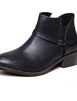 Women's Shoes  Split Sole Fashion Boots Boots Casual Black / Blue / Brown