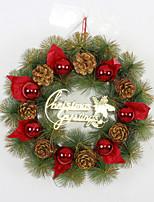 Christmas Pine Cone Decorations Wreath