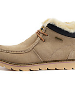 Men's Shoes Outdoor / Office & Career / Casual Suede Boots Brown / Gray