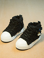Childrens' Shoes Athletic / Casual Bootie / Comfort Fleece Fashion Sneakers Black / Red / Gray