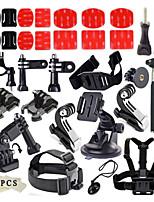 Basic Common Kit Accessories for All Gopro Hero4s 4 3+ 3 Sj4000 Sj5000 Sj6000 Sports Camera