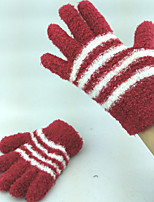 Very Elastic Good Quality Winter Gloves Mittens for Children Adults
