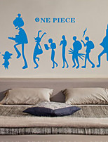 Fashion / People Wall Stickers Plane Wall Stickers , PVC 90cm*33cm