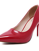Women's Shoes Patent Leather Stiletto Heel Comfort Pointed Toe Heels Party and Dress More Colors Available
