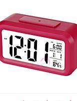 Bedside Luminous Electronic Clock Creative Big Screen Alarm Clock ABS