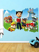3D Wall Stickers Wall Decals Style New Cartoon PVC Wall Stickers