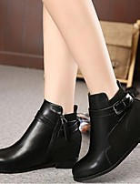 Women's Shoes  Chunky Heel Fashion Boots Boots Casual Black