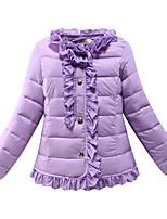 Rembourré Coton Fille de Hiver Coton / Polyester Rose / Violet / Rouge