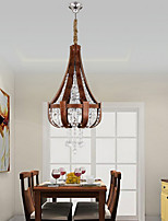 Lustre / Lampe suspendue - Contemporain / Traditionnel/Classique / Rustique / Rétro / Lanterne / Plafonnier pour Ilôt de Cuisine / Globe-