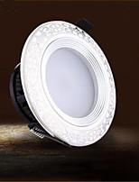 LED Encastrées Décorative Blanc Chaud / Blanc Froid Mizhichen 1 pièce 9005 3W 6 LED Intégrée 100 LM AC 85-265 V