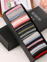 Women Ultra Warm Socks , Wool Blends (5 double / box,A box of mixed color 3-5)