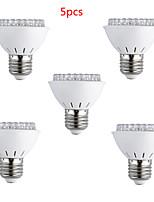 Decorativo Luci LED per la coltivazione , E26/E27 3 W 60 LED ad alta intesità 200lm LM Rosso / Blu AC 220-240 V
