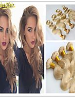 3 Pcs/Lot Top Quality Hair 4pcs/lot Brazilian Virgin Hair Body Wave 8A Grade Human Hair Lace Closure with Bundles