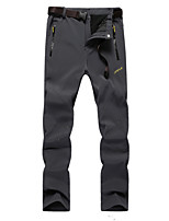 Men's Sweatpants , Casual / Formal / Sport / Plus Sizes Pure Polyester Outdoor climbing wind warm trousers when charging