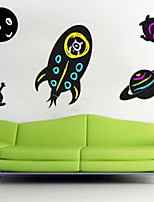 Botanical / Fashion Wall Stickers Plane Wall Stickers , PVC 83.8cm*61cm