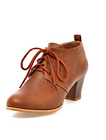 Women's Shoes Chunky Heel Round  Toe Ankle Boots More Colors available