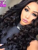 In Stock 10-30inch Loose Wave Malaysian Human Hair Full Lace Wig For African American