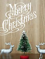 Christmas / Fashion Wall Stickers Plane Wall Stickers , PVC 80cm*60cm