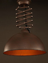 Lamp Shade Black Wrought Iron Flexible Chandelier Industrial Office Warehouse Cafe Lid Shade Chandelier