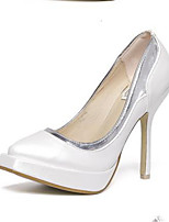 Women's Shoes Stiletto Heel Square Toe Heels Casual White