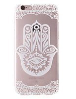 Hamsa Pattern Transparent Soft TPU Back Cover for iPhone 7 7 Plus 6s 6 Plus