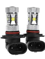 2 X White High Power 30W HB4 9006 LED Light bulbs DRL Fog/Driving Light Lamp 12V-24V