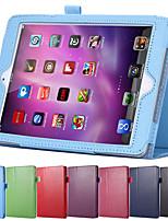 aleta superfície lichia estojo de couro pu para o mini Apple iPad 4 com retina estande inteligente sono magnético wake up pouch tampa