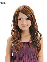 2015 Women Ombre Fashion Natural Wavy Janpanese Heat Resistant Synthetic Hair Wig XY001 24