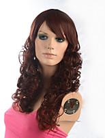 2015 donne Ombre moda ondulato naturale calore janpanese parrucca sintetica resistente F004-m33c 22
